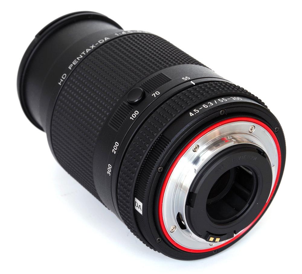 Hd Pentax 55 300mm Ed Plm Wr Re Rear Oblique View