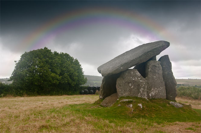 Image with a rainbow