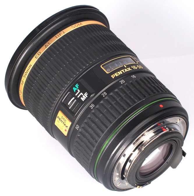 Pentax DA 16 50mm F2 8 ED AL IF SDM Lens (4)