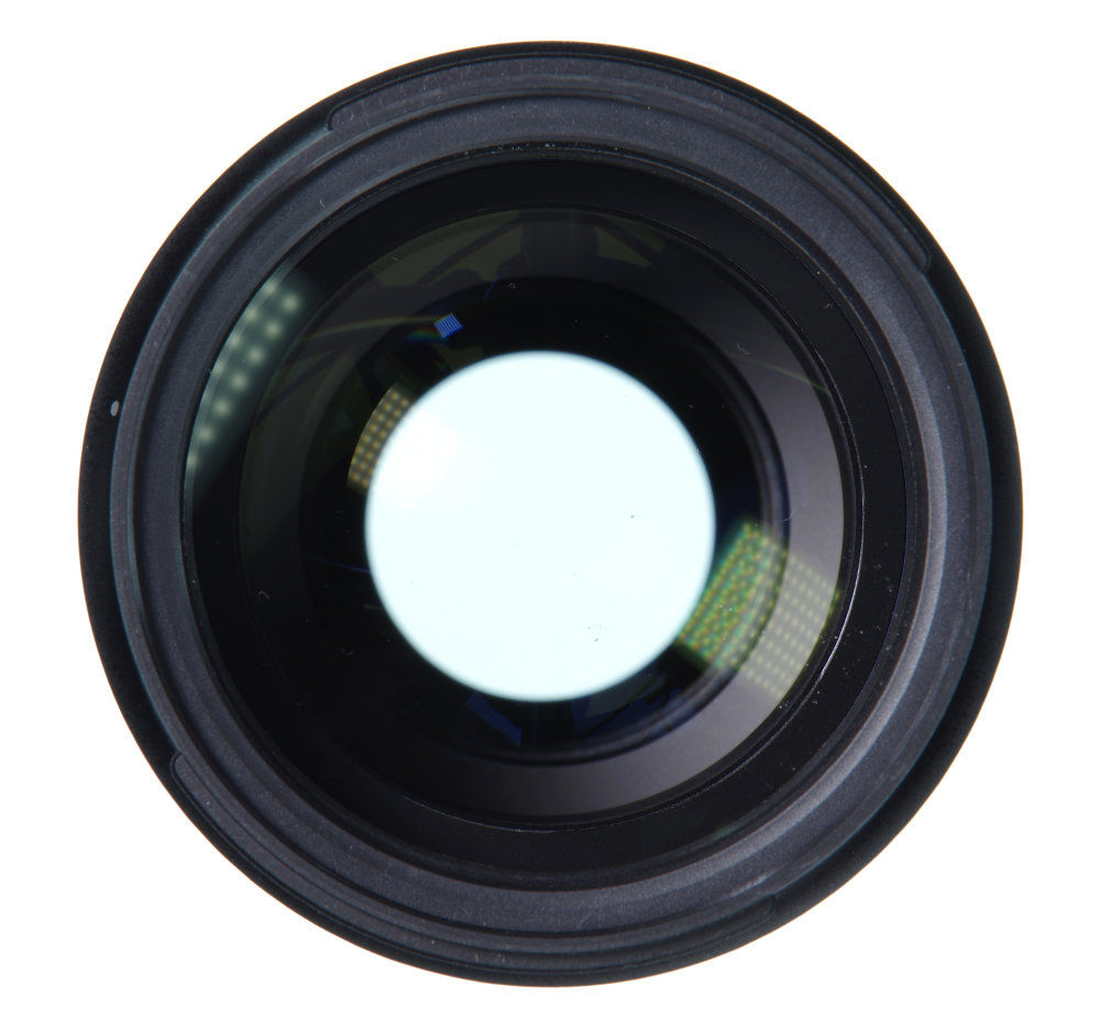 Pentax 70 210mm F4 Front Element View