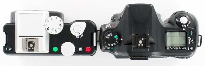 Pentax K-01 IstD DSLR Top