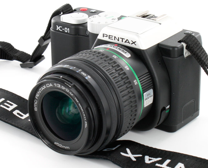 Pentax K-01 With 18-55mm Lens