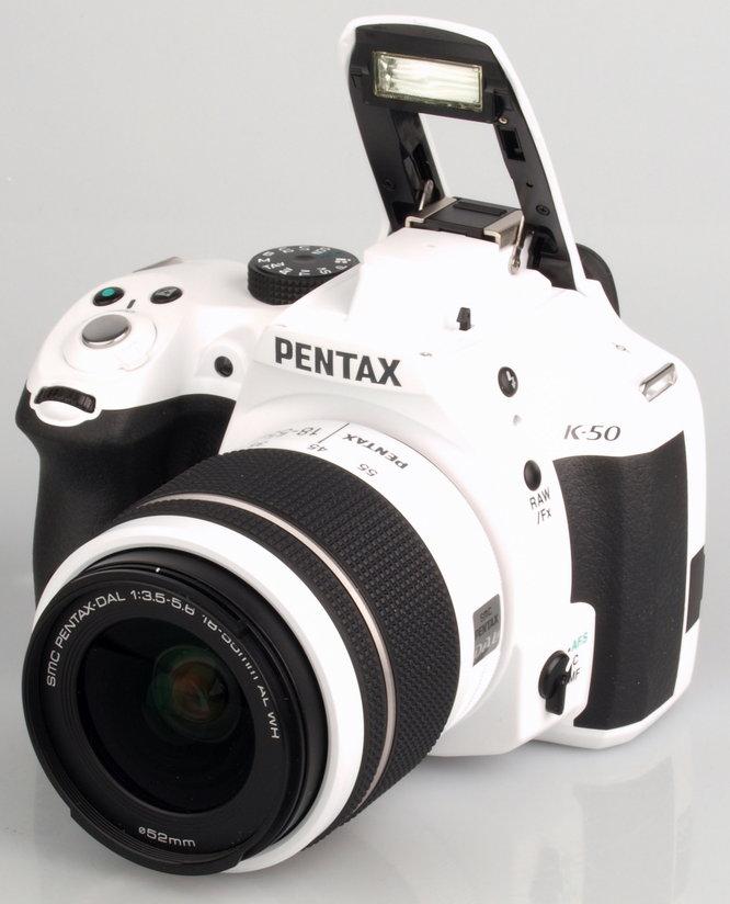 Pentax K-50 White Large (10)