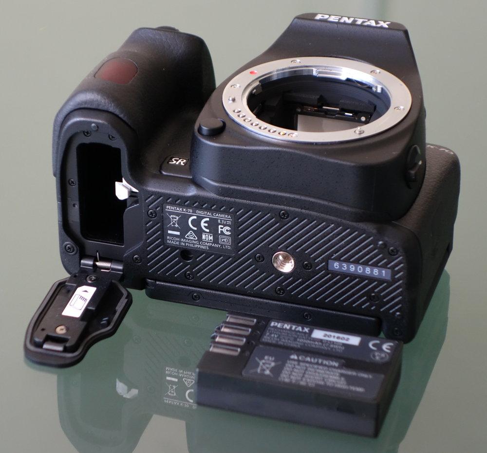 Pentax K70 DSLR (5)