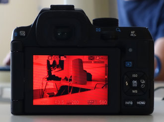Pentax K 70 Night Vision LCD Live View