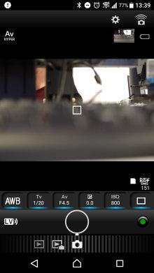Pentax Image App Remote Shooting