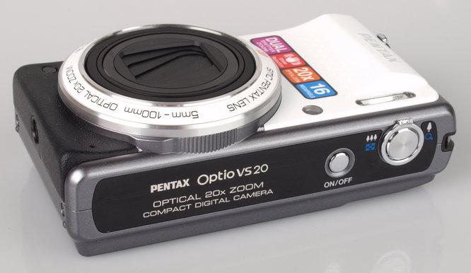 Pentax Optio Vs20 Top