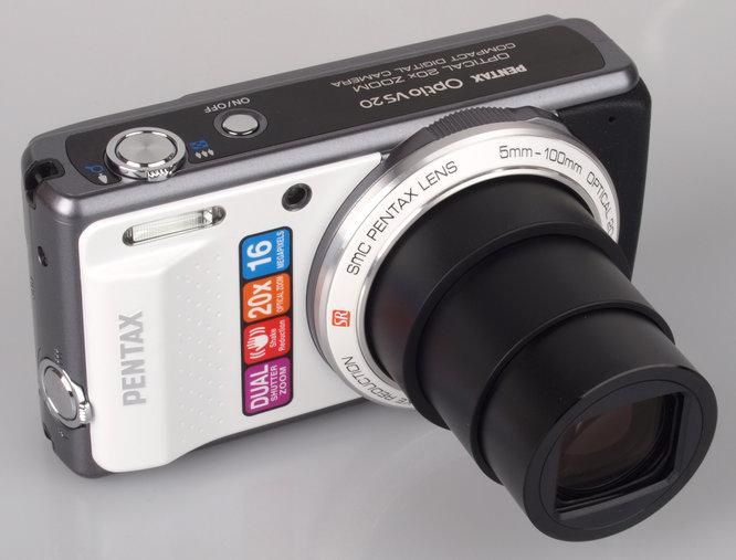 Pentax Optio Vs20 Zoom