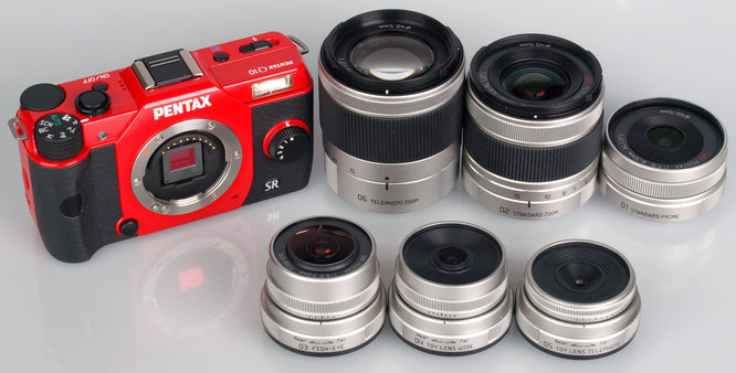 Pentax Q And Lenses