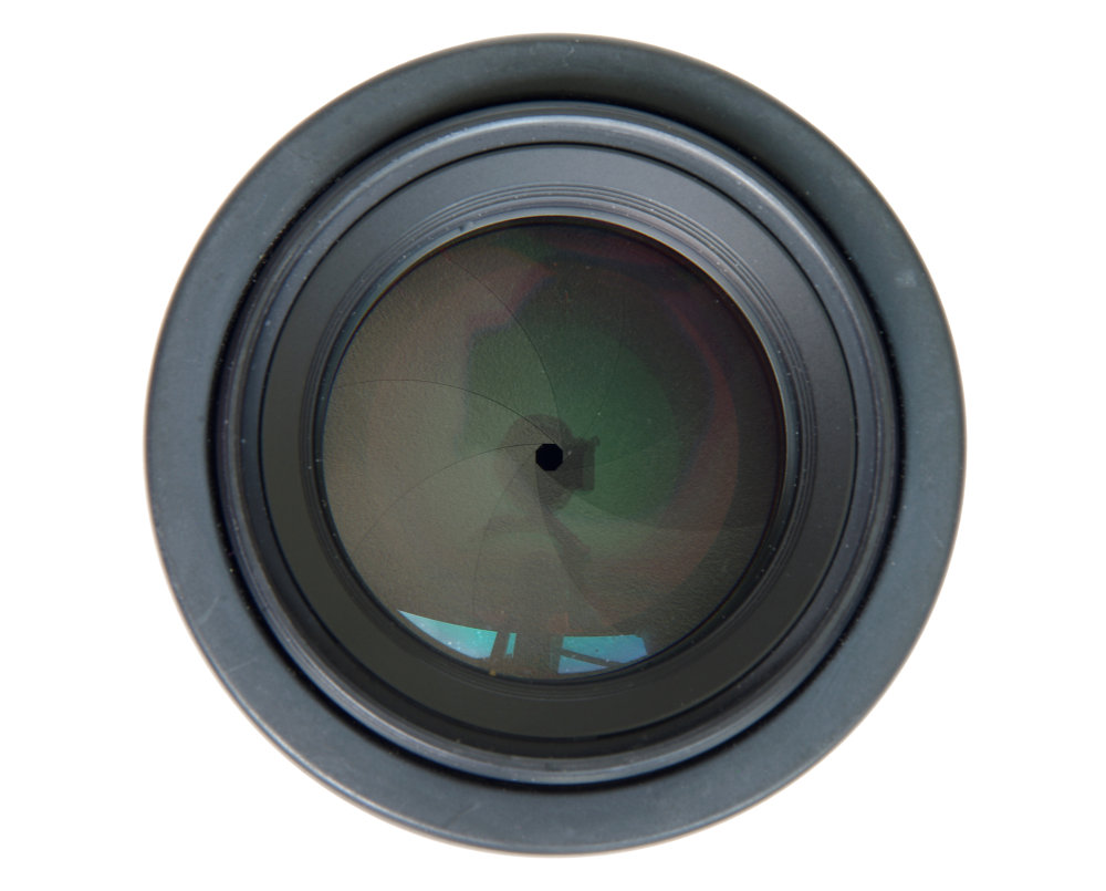 Pentax 50mm F1,4 Front Element View