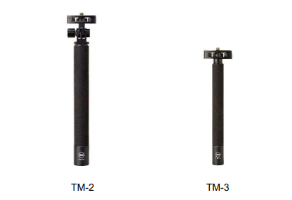 Theta Stick TM-2 and Ricoh Theta Stick TM-3