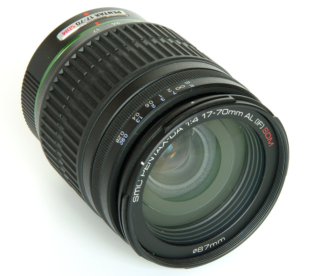 SMC Pentax-DA 17-70mm f/4 ED IF SDM