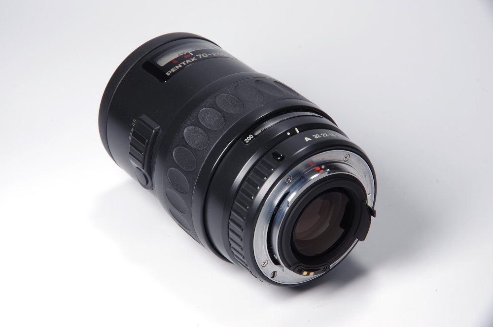 Pentax FA 70 200mm Rear Oblique View | 1/6 sec | f/16.0 | 78.0 mm | ISO 100