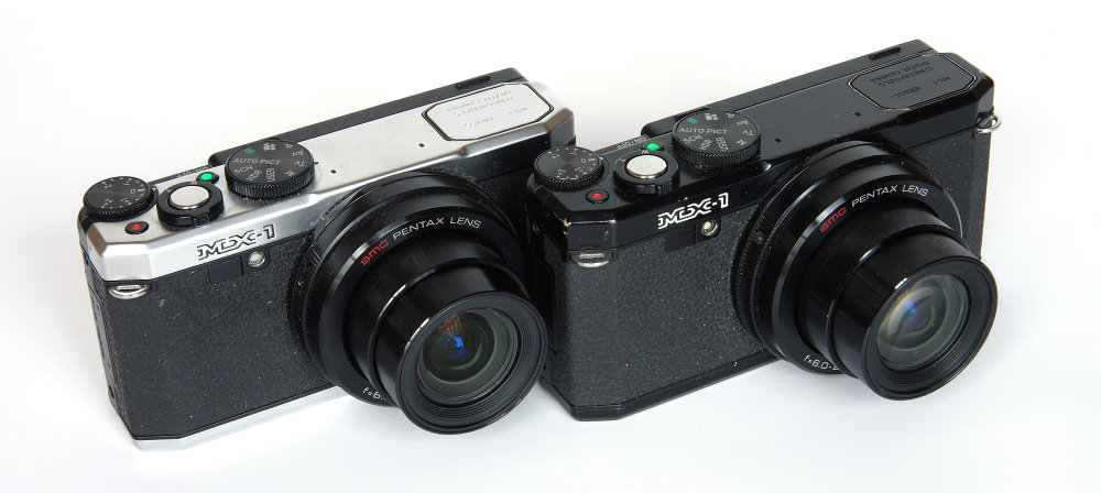Pentax Mx 1 Lens Extended