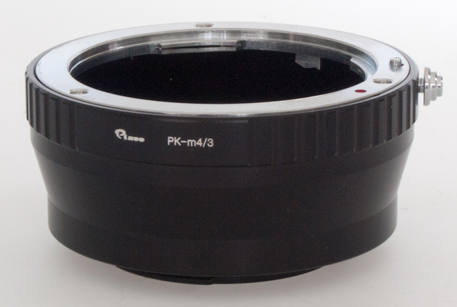 Pentax K to Micro 4/3 adaptor