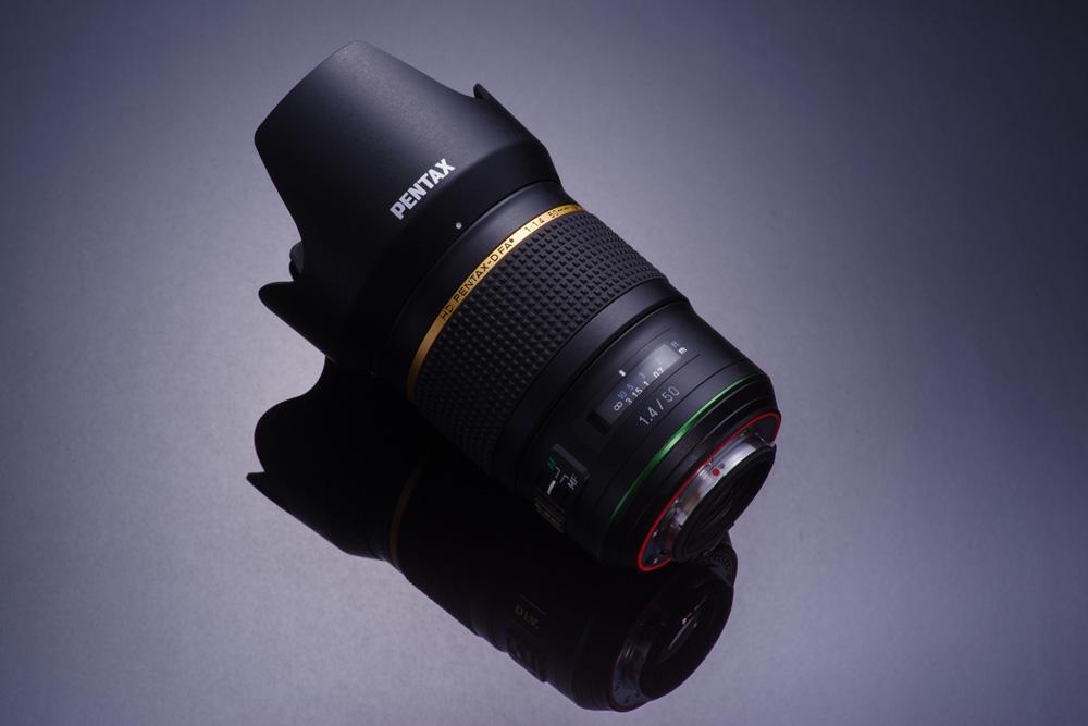 DA 50mm lens